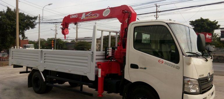 Cho thuê xe cẩu Hino tại TPHCM chất lượng, giá rẻ