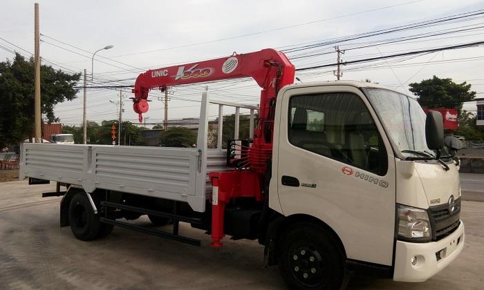 Xe cẩu Hinogiúp tiết kiệm nhiên liệu khoảng 10% so với các thương hiệu xe cùng loại khác