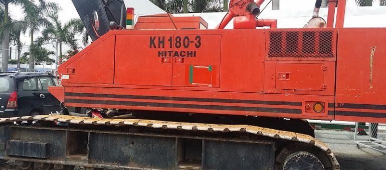 Xe cẩu Hitachi - đơn vị cung cấp xe cẩu Hitachi tại TPHCM