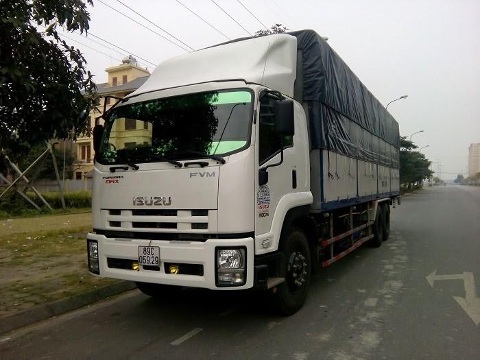 Số lượng xe tải tăng lên hàng năm do lượng hàng hóa tăng