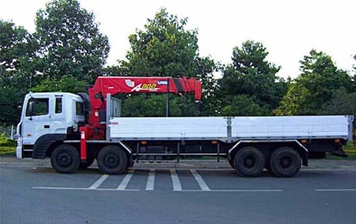 Xe cẩu 15 tấn