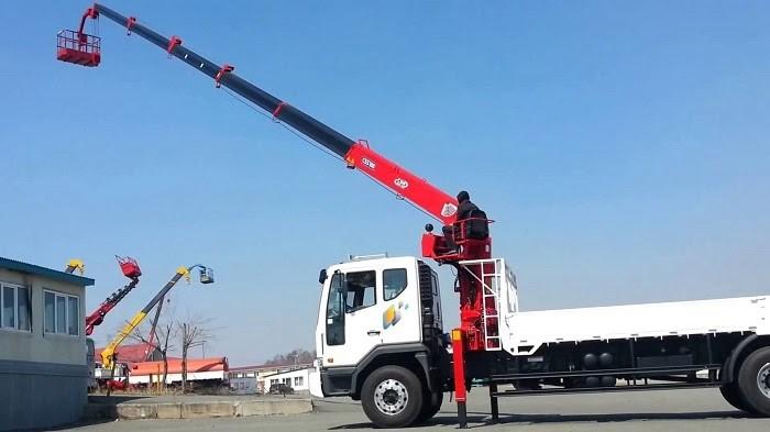 Xe Cẩu Xuân Mười sở hữu các dòng xe tải, xe cẩu hiện đại bậc nhất hiện nay